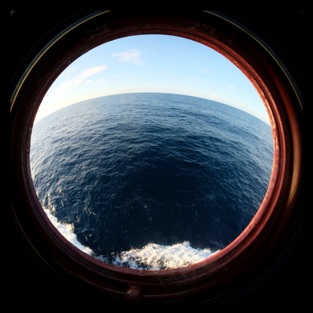 The Pacific Ocean at a depth of 4500 meters, image credit Rohini Devasher, courtesy The Owners Cabin Residency.